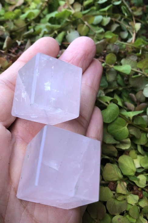 Rose Quartz Cube