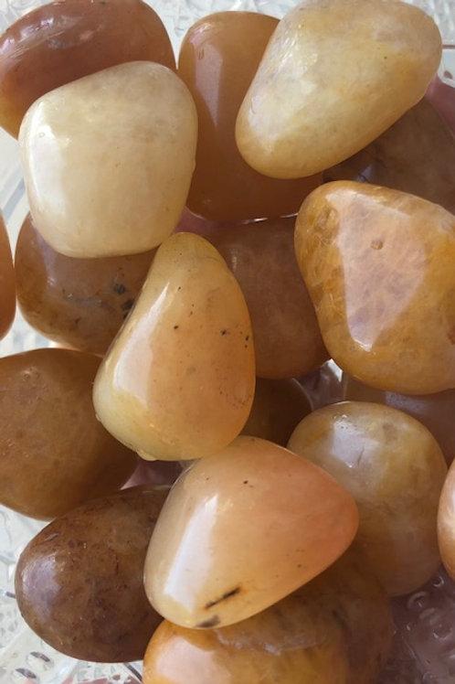 Golden Healer Tumbled Stone