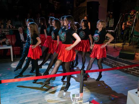 Школа ирландских танцев Hibernia на праздновании Самайна 2016