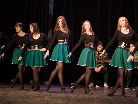 Ирландские танцы для начинающих | Открытые уроки