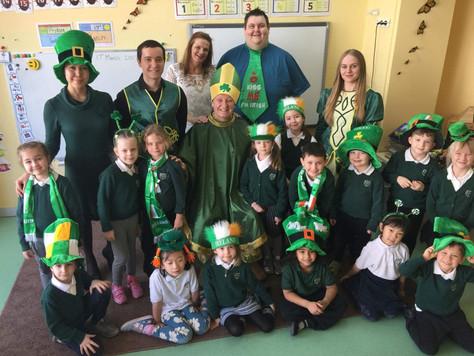 Ирландские танцы на английском языке!