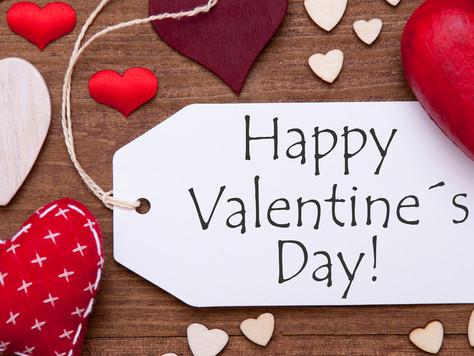 С днем Святого Валентина! -14% на занятия для влюбленных!