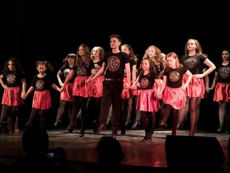 """Итоги отчетного концерта школы ирландских танцев Hibernia """"Ритмы народов мира"""""""