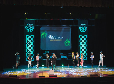 Ирландское шоу Celtica - Backstage