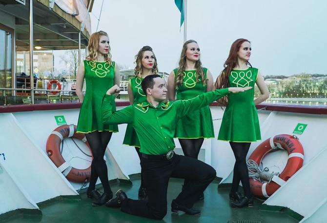 Летний сезон открыт! Ирландские танцы на открытом воздухе