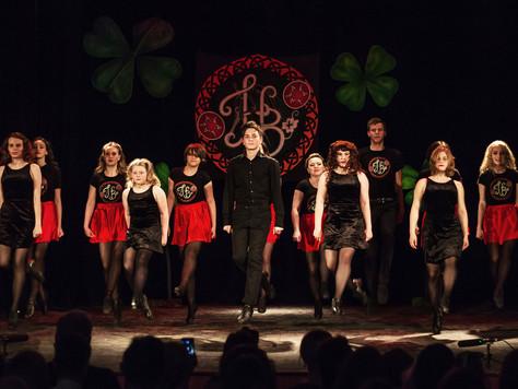 Отчетный концерт в честь 10-летия школы ирландских танцев Hibernia!