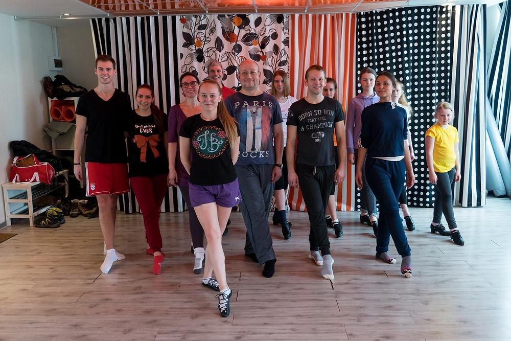 Открытые уроки по ирландским танцам