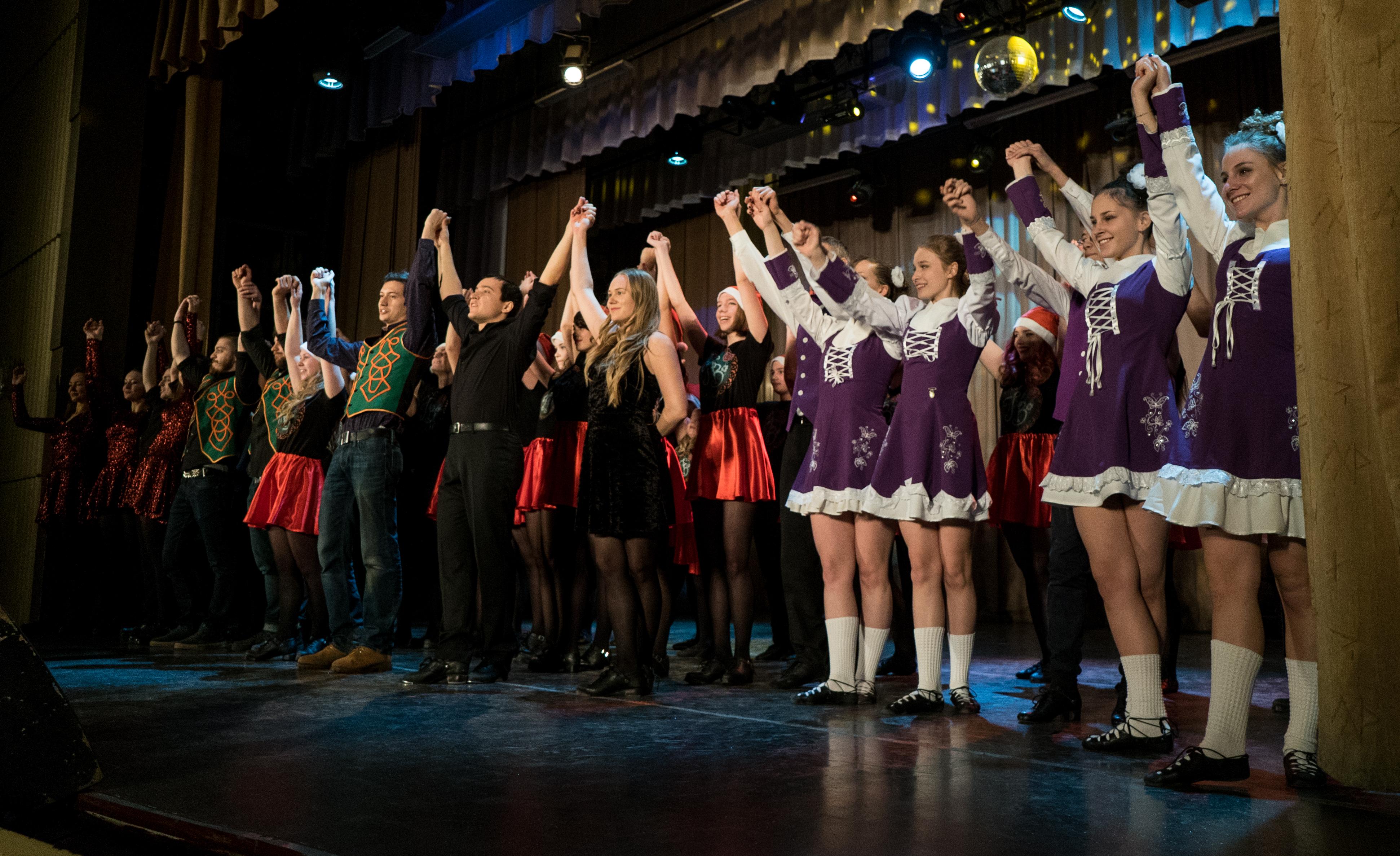 Отчетный концерт школы Hibernia