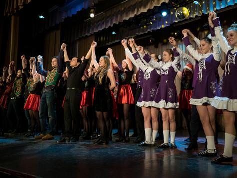 Большой новогодний концерт школы Hibernia