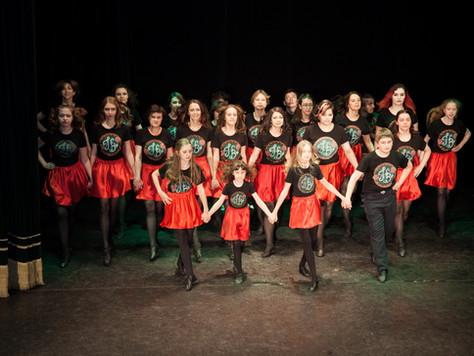 Набор на новый танцевальный сезон школы Hibernia во все группы по ирландским танцам