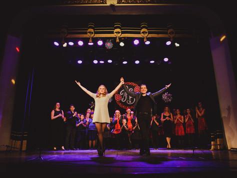 Зимний концерт школы ирландских танцев Hibernia
