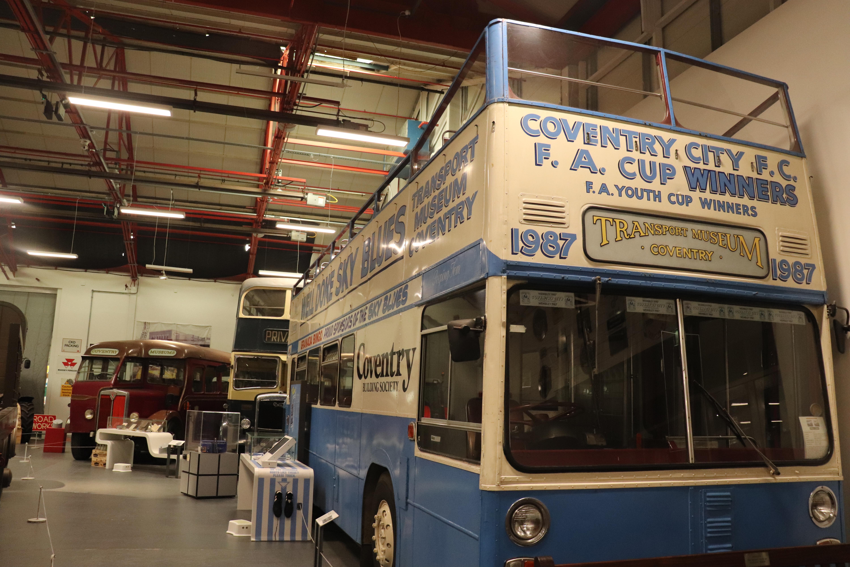 Sky Blues Bus - Coventry Transport Museu