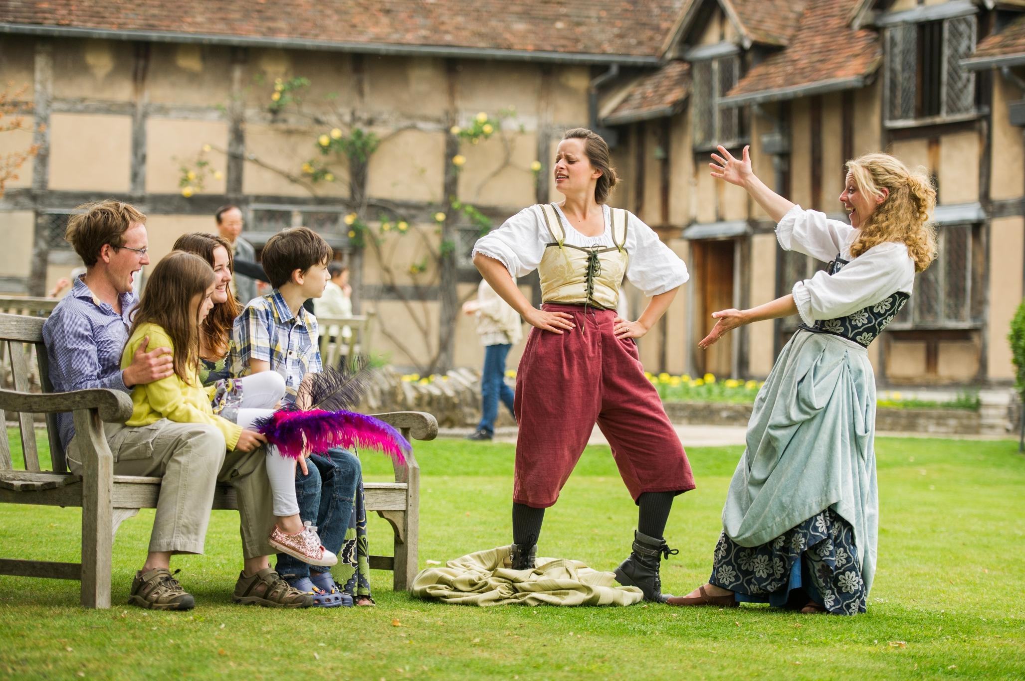 Shakespeare Aloud! at Shakespeare's Birt