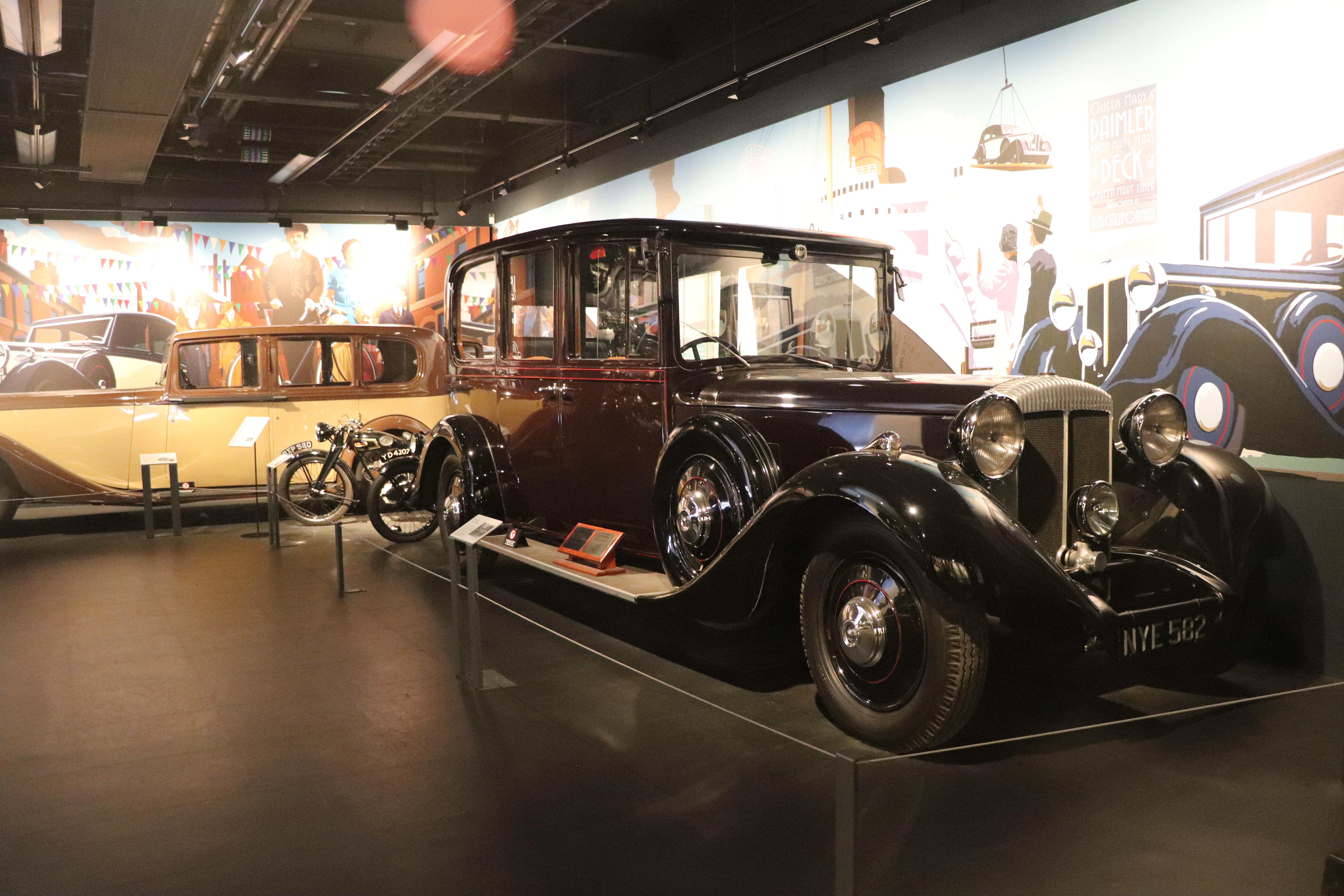 Queen Mary's Royal Car - Coventry Transp