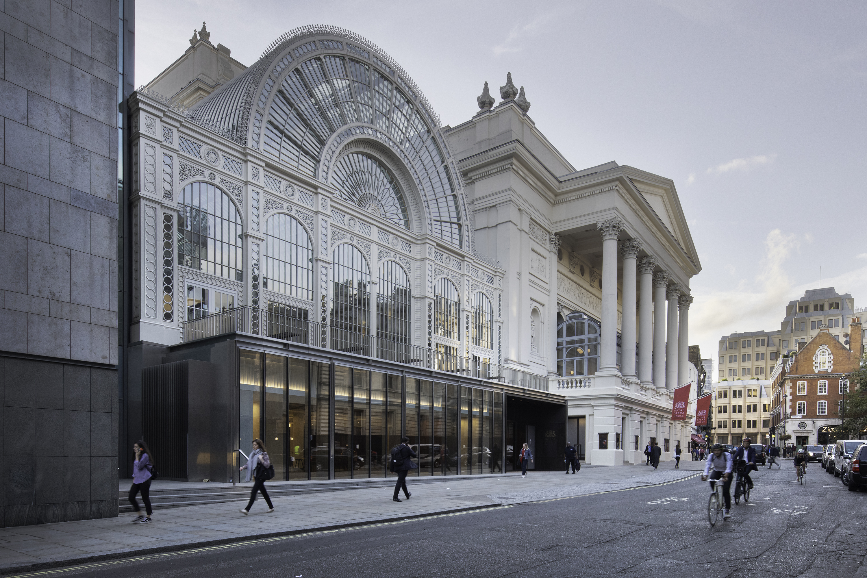 Royal Opera House, new exterior (c) ROH,