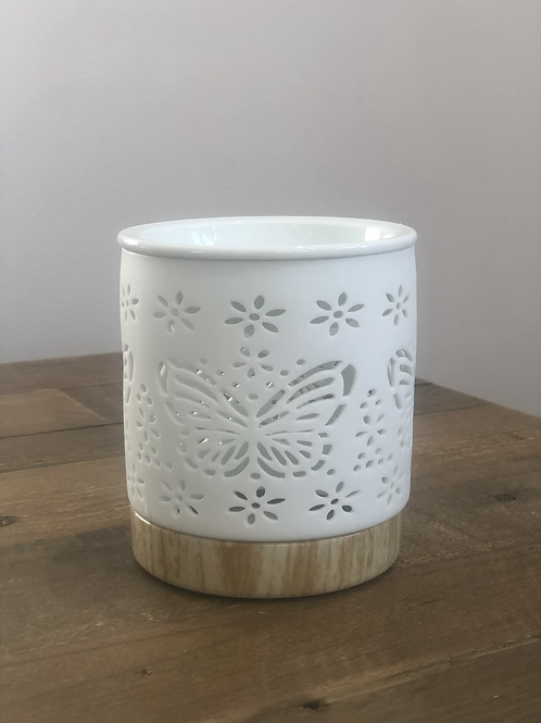 Ceramic Butterfly Cut out Burner