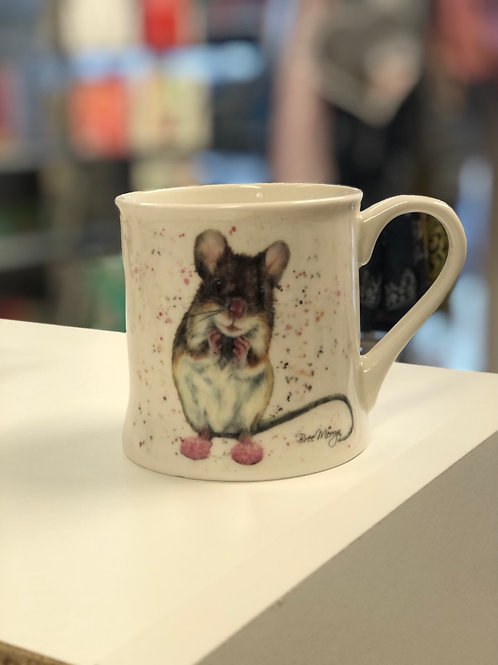 Mouse in Booties, Mug
