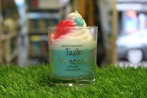 Jade Princess, Piped Glass Candle