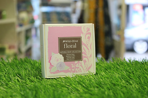 Floral Soap Collection - 4 Soaps