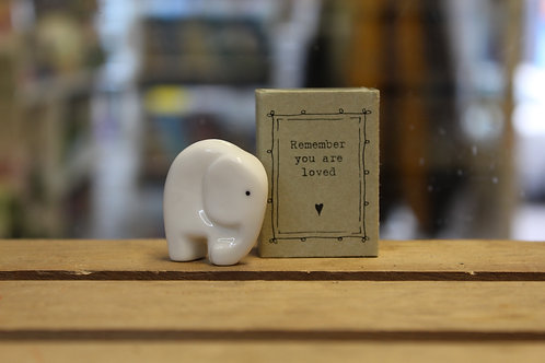 Remember you are loved, Elephant - Matchbox