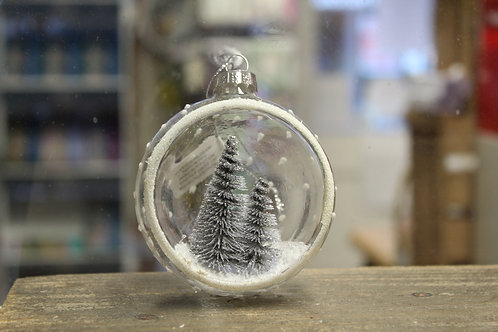 Open Glass Bauble