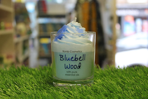 Bluebell Wood, Piped Glass Candle