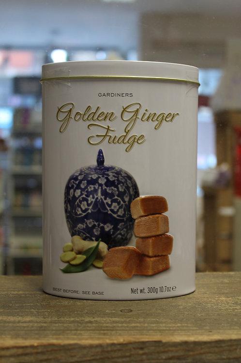 Golden Ginger Fudge