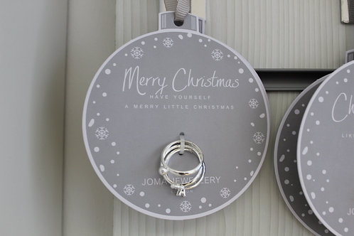 Merry Christmas, Ring Bauble
