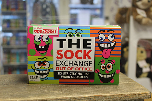 The sock exchange, out of office, Odd Socks