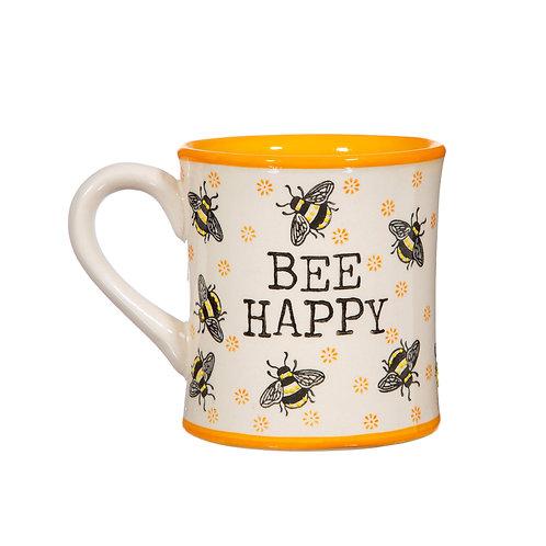 Bee Happy, Mug
