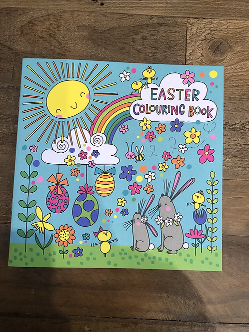 Easter, Colouring Book