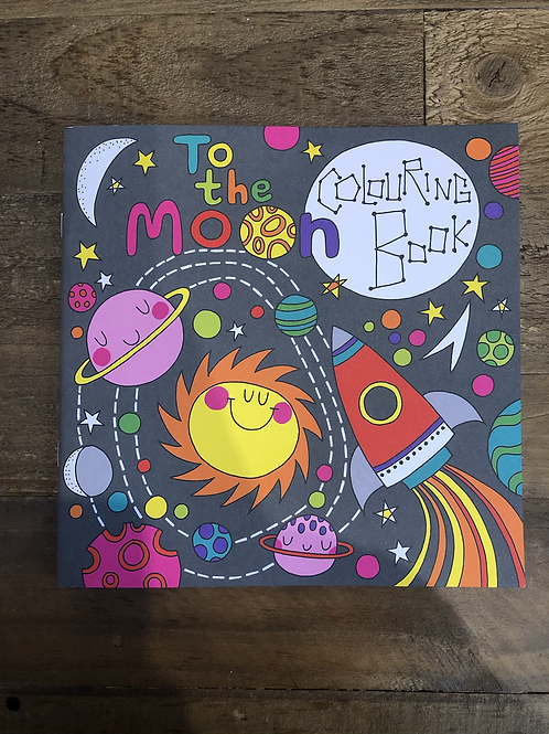 To the Moon, Colouring Book