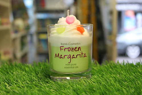 Frozen Margarita, Piped Glass Candle
