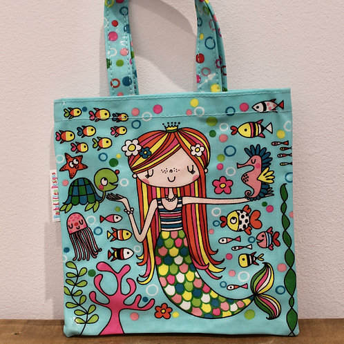 Mermaid, Mini Tote Bag