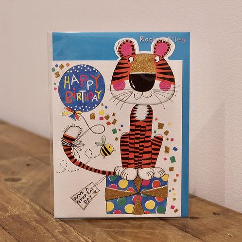 Happy Birthday, Tiger, Birthday Card