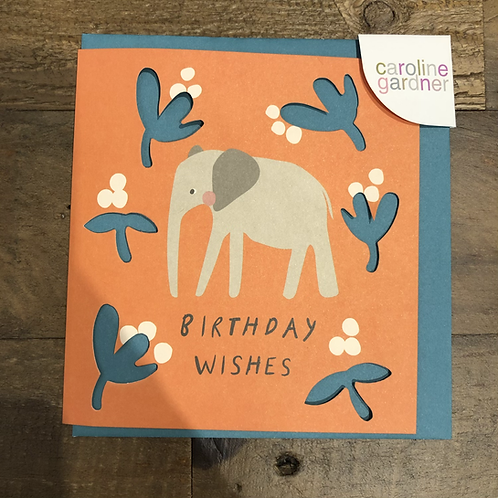 Birthday Wishes, Elephant cards