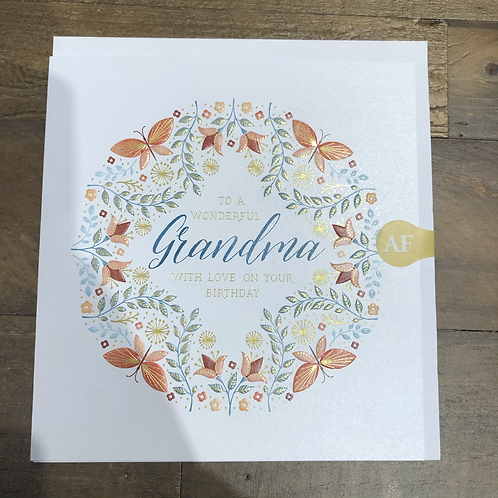 to a Wonderful Grandma, with love on your birthday
