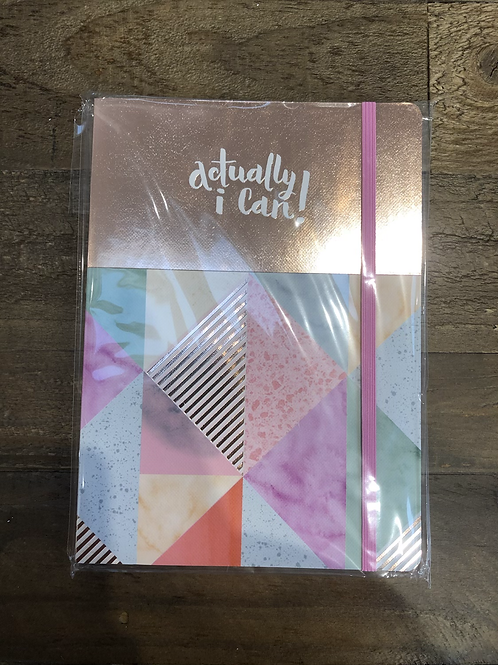 Actually i can! Geometric Marble A5 Notepad