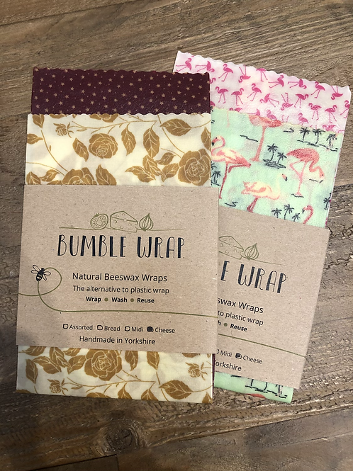 Bumble Wrap - Cheese Packs