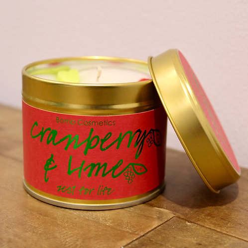 Cranberry & Lime, Candle