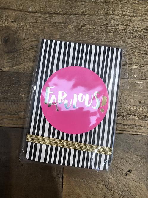 Fabulous, A7 Notepad