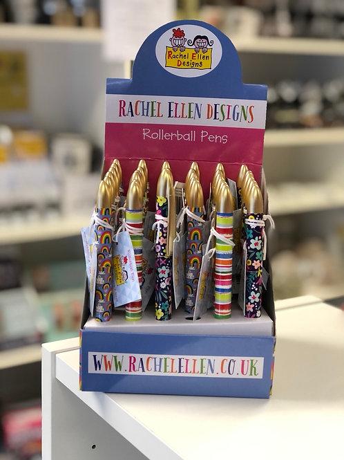 Roller Ball Pens, 3 Designs