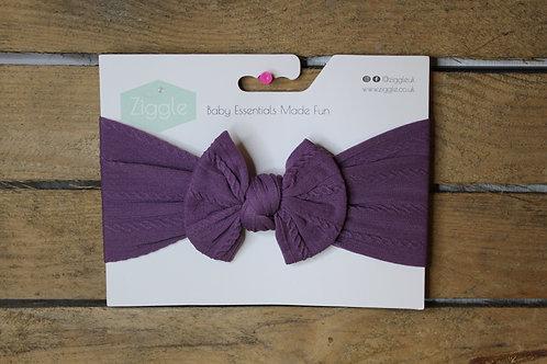 Headband, Purple