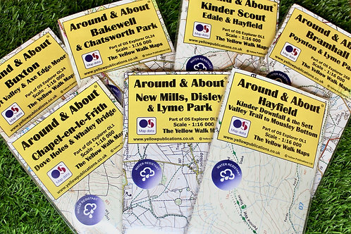 Around & About, Local Walking Maps