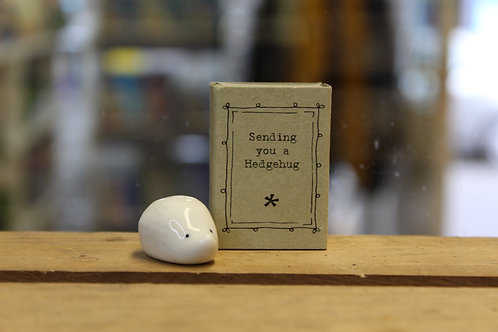 Sending you a Hedgehug - Matchbox