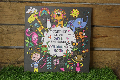 Together we can save the Earth, Colouring Book