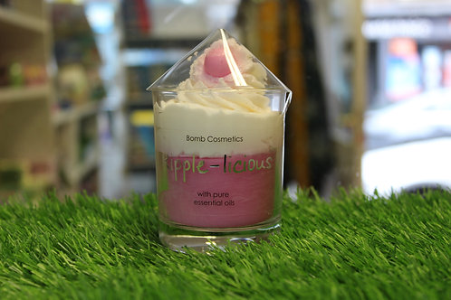 Ripple-licious, Piped Glass Candle