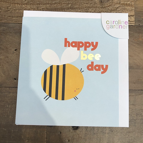 Happy Bee Day, Card