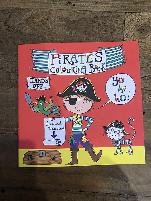 Pirates, Colouring Book