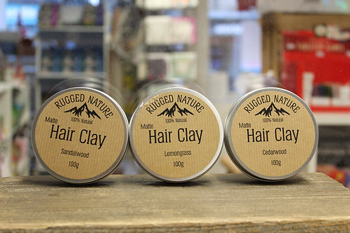 Hair Clay - 3 Scents
